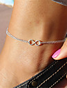 Women's Anklet/Bracelet Alloy Unique Design Fashion Costume Jewelry Jewelry Infinity Jewelry For Party Daily Casual Sports Christmas