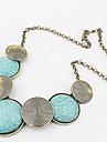 Women\'s Statement Necklaces Circle Geometric Alloy Fashion European Costume Jewelry Bohemian Personalized Statement Jewelry Jewelry For