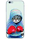 용 아이폰6케이스 / 아이폰6플러스 케이스 울트라 씬 / 투명 케이스 뒷면 커버 케이스 카툰 소프트 TPU Apple iPhone 6s Plus/6 Plus / iPhone 6s/6 / iPhone SE/5s/5