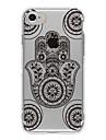Pour Coque iPhone 7 / Coques iPhone 7 Plus / Coque iPhone 6 Motif Coque Coque Arriere Coque Forme Geometrique Flexible TPU AppleiPhone 7