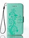 Embossed Leather Wallet for HTC M8 Cases / Covers for HTC Cell Phone Cases