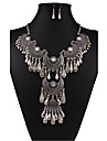 Women\'s Jewelry Set - Vintage, European, Fashion Include Necklace / Earrings White / Black For Wedding / Party / Daily