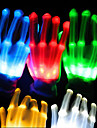 LED Party Nightclub Full Colorful Luminous Dance Perform Gloves