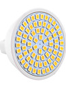 YWXLIGHT® 7W 600-700lm GU5.3(MR16) LED Spotlight MR16 72 LED Beads SMD 2835 Decorative Warm White Cold White 9-30V