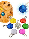 Luz LED de Clipe a Prova de Agua de Seguranca de Cachorros (Varias Cores)