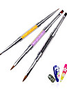 1pcs Professional Acrylic UV Gel Crystal Rhinestone Flat Paiting Drawing Lines Brush Pen DIY Salon Nail Tools
