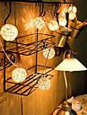 1.2M 10Bulbs LED String Lamps Sepak Takraw Balls Lights Christmas Outdoor Wedding Home Decoration