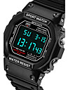 SANDA Муж. Наручные часы Смарт Часы Армейские часы Модные часы Спортивные часы Цифровой Японский кварц Секундомер Защита от влаги LED