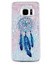 Dreamcatcher Pattern Glitter Quicksand Phone Case For Samsung Galaxy S6 S7 edge