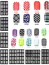 1 pcs 아트 스티커 네일 3D 네일 스티커 메이크업 화장품 아트 디자인 네일
