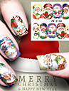 1 Nail Art Sticker Watertransfer decals make-up Cosmetische Nail Art Design