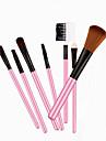 7pcs Professional Makeup Brushes Powder Brush / Brow Brush / Eyeshadow Brush Horse / Synthetic Hair Travel / Professional Wood Eye /