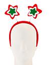 1pc нетканые пятиконечные звезды обруч украшения рождественские украшения