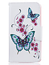 Case For LG K8 LG LG K10 LG K7 Card Holder Wallet with Stand Pattern Full Body Cases Butterfly Hard PU Leather for