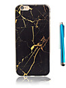 Case For Apple iPhone 5 Case iPhone 6 iPhone 7 Pattern Back Cover Marble Soft TPU for iPhone 7 Plus iPhone 7 iPhone 6s Plus iPhone 6s