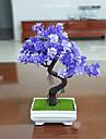 Set of 1 PCS 1 Ramo Poliester Plantas Flor de Mesa Flores artificiais Long 9.4(inch)