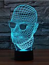 lunettes homme touche gradation LED 3D lumiere de nuit lampe atmosphere decoration 7colorful eclairage nouveaute lumiere de Noel