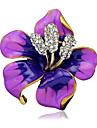 Women\'s Brooches - Stylish Brooch Black / Purple / Red For Wedding / Party / Dailywear / Casual
