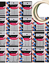 18 motif different outil de prise de modele Nail Art donner 2pcs nail art adhesive du ruban