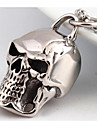 Муж. Ожерелья с подвесками Бижутерия Череп Титановая сталь На заказ Мода Панк Бижутерия Назначение Свадьба