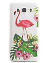 Для samsung galaxy j5 j3 (2016) кейс покрытие фламинго рисунок высокая проницаемость покраска tpu материал телефон чехол
