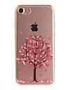 용 IMD 케이스 뒷면 커버 케이스 꽃장식 소프트 TPU 용 Apple 아이폰 (7) / iPhone 6s/6