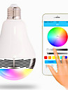 350 lm E26/E27 LED Smart Bulbs G80 20 leds SMD 5050 Bluetooth Decorative RGB AC 85-265V