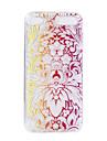 etui de tpu de fleur de phoenix pour des cas d\'ipod de touch5 6 / couvertures accessoires d\'ipod