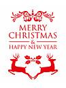 정물 패션 모양 크리스마스 빈티지 Leisure Fantasy 벽 스티커 플레인 월스티커 데코레이티브 월 스티커, 비닐 홈 장식 벽 데칼 창문