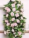 Fiori Artificiali 1 Ramo Stile Pastorale Rose Ghirlande e fiori da appendere