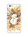 Para Capinha iPhone 6 Capinha iPhone 6 Plus Case Tampa Ultra-Fina Estampada Capa Traseira Capinha Animal Macia TPU paraiPhone 6s Plus