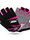 Sports Gloves Quick Dry Wearable Breathable Shockproof Fingerless Gloves Lycra Mesh Cycling / Bike Unisex