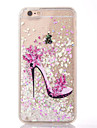 For iPhone 8 iPhone 8 Plus iPhone 7 iPhone 7 Plus iPhone 6 Case Cover Flowing Liquid Back Cover Case Sexy Lady Soft TPU for Apple iPhone