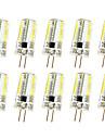 3W G4 Luz de Decoracao T 64 SMD 3014 250-300 lm Branco Quente Branco Frio K Regulavel AC220 V