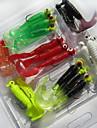21pcs buc Momeală moale / Δόλωμα Momeală moale Plastic moale Pescuit mare / Pescuit de Apă Dulce