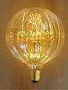 1pc 2.5 W 100 lm E26 / E27 Ampoules Globe LED 49 Perles LED LED Dip Decorative Jaune 220-240 V / 1 piece / RoHs