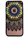 Pour Coque iPhone 7 Coque iPhone 6 Coque iPhone 5 Etuis coque Relief Coque Arriere Coque Impression de dentelle Dur Polycarbonate pour