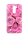 For LG V20 V10 Case Cover Flower Pattern Back Cover Soft TPU for K10 K8 K7 G5 G4 G3