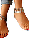 Women\'s Anklet / Bracelet Alloy Tassel Statement Jewelry Fashion European Anklet Jewelry For Daily
