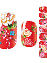 3D Nail Stickers Nail Stamping Template Daily Flower Fashion Lovely High Quality