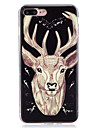 For iPhone 7 iPhone 6 iPhone 5 Case Case Cover Glow in the Dark IMD Back Cover Case Animal Soft TPU for Apple iPhone 7 Plus iPhone 7