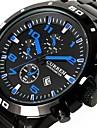 Men\'s Fashion Watch Sport Watch Dress Watch Quartz Calendar / date / day Water Resistant / Water Proof Alloy Band Luxury Casual