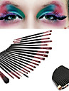 20pcs Professional Makeup Brushes Makeup Brush Set / Eyelash Comb (Round) / Liquid Eyeliner Brush Synthetic Hair / Nylon / Pony Portable