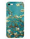 Pour iPhone X iPhone 8 iPhone 7 iPhone 7 Plus iPhone 6 Etuis coque Ultrafine Motif Coque Arriere Coque Fleur Flexible PUT pour Apple