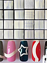 24PCS Nail Art Sticker  French Tips Guide Makeup Cosmetic Nail Art Design