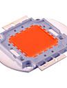 1pc 100W 5000lm Guirlande Ampoule en croissance 100 Perles LED LED Integree Decorative Violet 30-34V