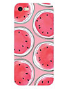 For iPhone X iPhone 8 iPhone 7 iPhone 7 Plus iPhone 6 Case Cover Ultra-thin Pattern Back Cover Case Fruit Soft TPU for Apple iPhone X