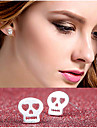 Stud Earrings Jewelry Silver Plated Alloy Jewelry For Wedding Party Daily Casual