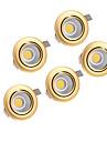 5pcs  5W COB 220-240V Golden LED Down Light Recessed Ceiling