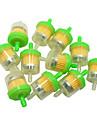 100pcs / lot мотоцикл atv универсальный газовый бензин фильтр для Suzuki 70-200cc